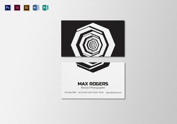 tarjetas de presentación 1 resumen-fotógrafo-tarjeta-de-negocio-plantilla