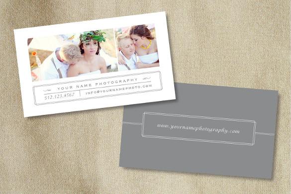 tarjetas de presentación 1 tarjetas de visita para fotógrafos