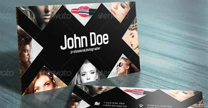 Tarjeta de visita creativa de John Doe 3