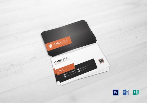 plantilla de tarjeta de visita multiuso