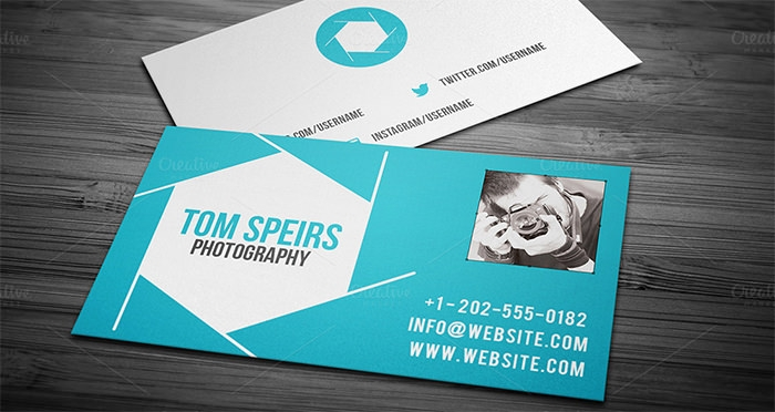 Tom Speirs Photography Tarjetas De Negocio