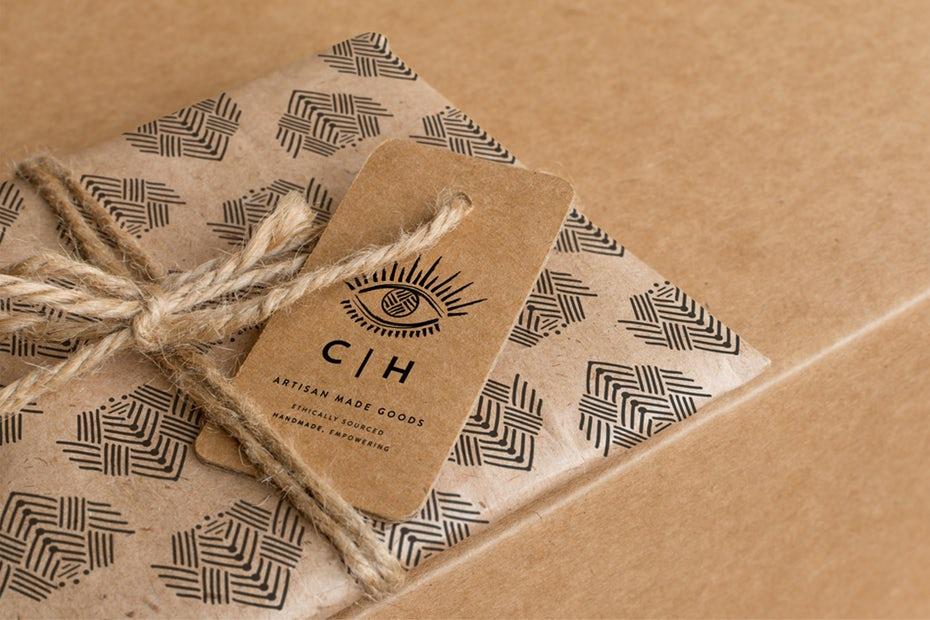 tendencias de diseño gráfico, Logo del paquete Humanidad Colectiva