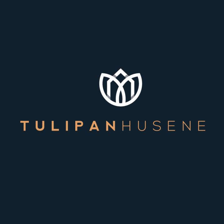 tendencias de diseño gráfico, Logo de Tulip Husene