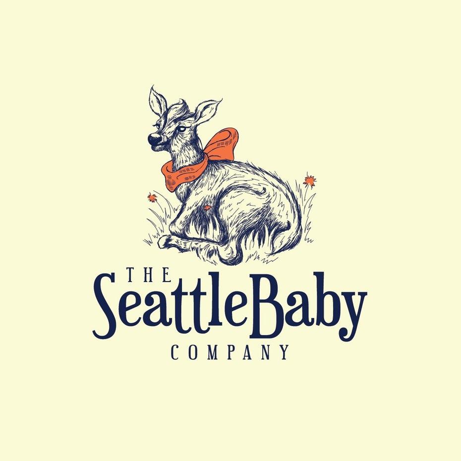 Logotipo de la compañía de bebés de Seattle