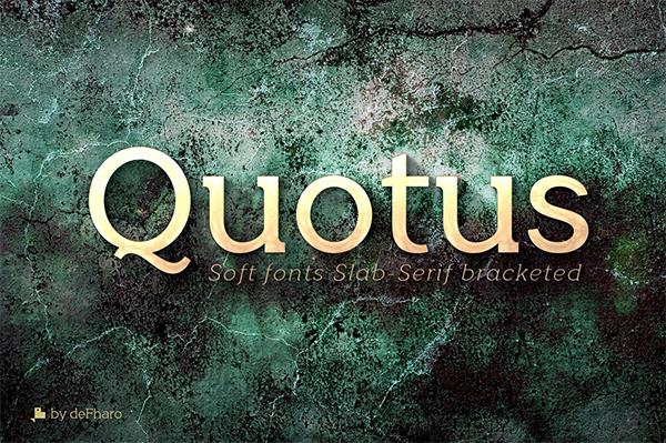 Quotus Slab Bracketed Fuentes