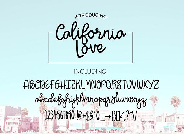 California Love Script Fuentes
