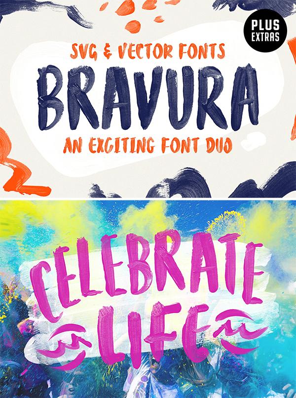 Bravura SVG Font Duo Extras