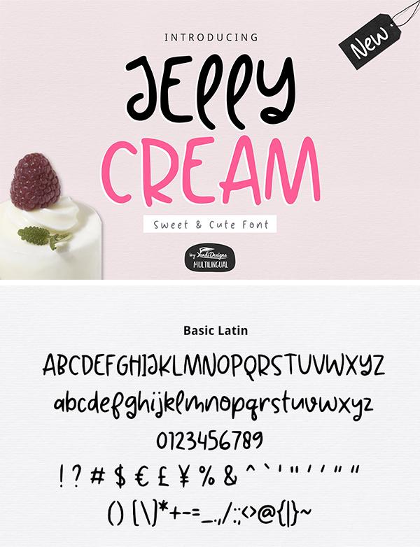 Fuente Jelly Cream