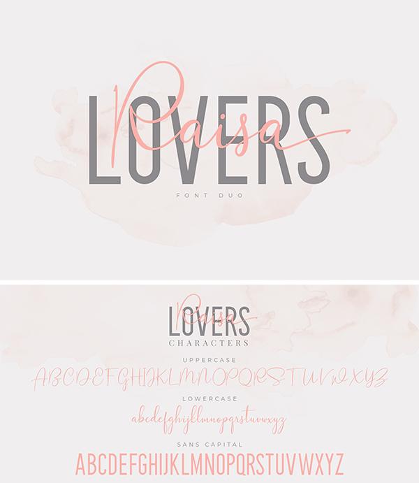 Dúo de fuentes de Raisa Lovers
