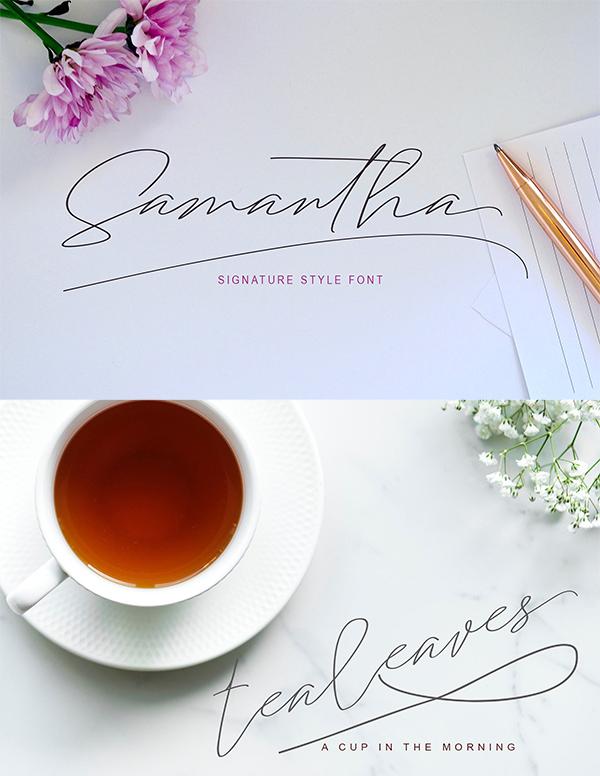 Samantha Signature Fuentes