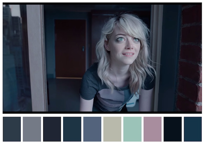 Cinema Palettes: Color palettes from famous movies - Birdman