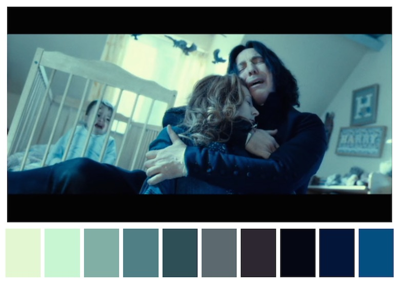 Cinema Palettes: Color palettes from famous movies - Harry Potter and The Deathly Hallows-part-2
