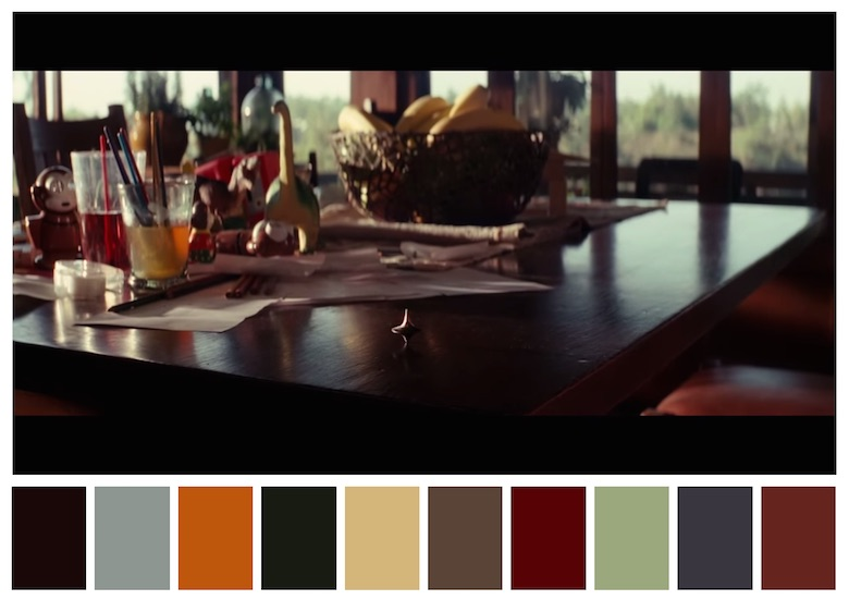 Cinema Palettes: Color palettes from famous movies - Inception