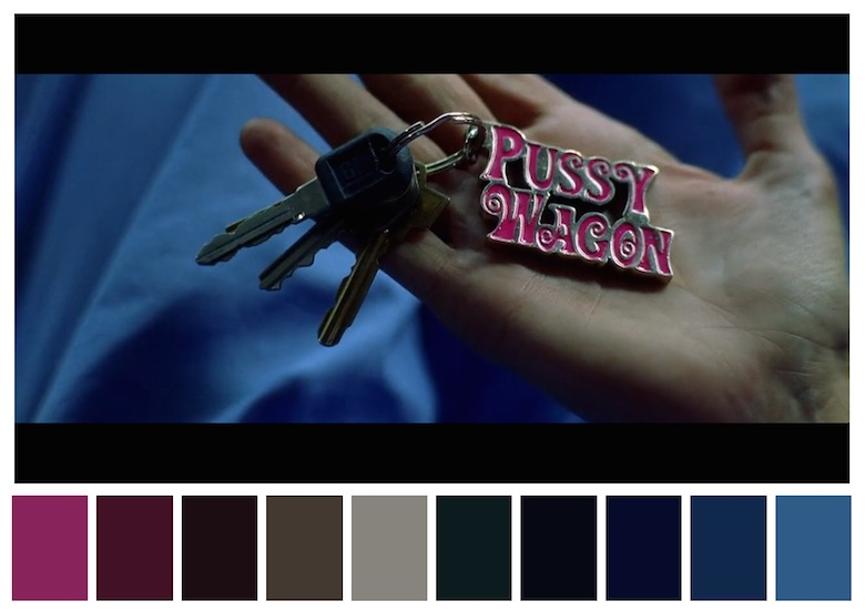 Cinema Palettes: Color palettes from famous movies - Kill Bill