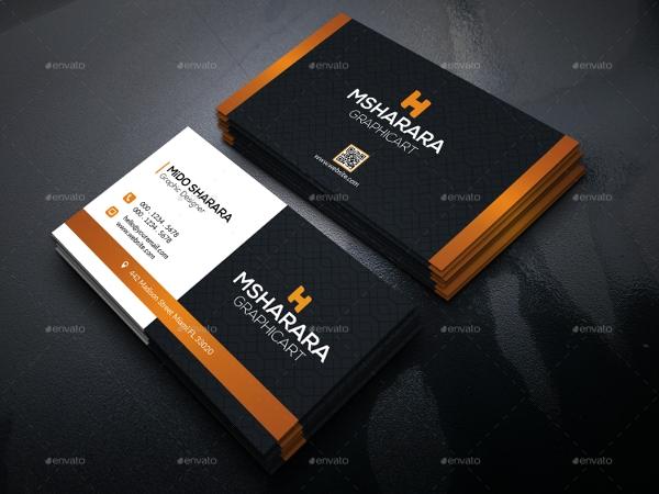 tarjetas de presentación 1 tarjeta de visita corporativa