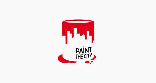 Logotipos y Diseños que usan espacio negativo - Paint The City