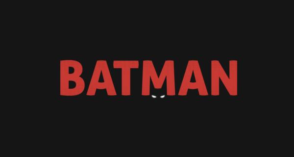 Diseños de logotipos creativos que utilizan espacio negativo - Batman