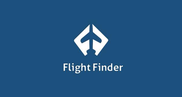 Diseños que utilizan espacio negativo - Buscador de vuelos