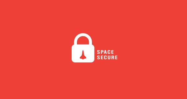 Diseños que utilizan espacio negativo - Space Secure