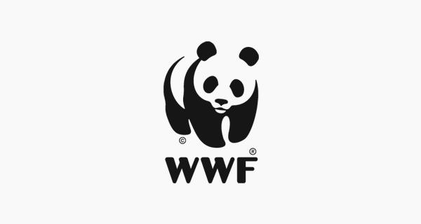 Diseños que utilizan espacio negativo - WWF