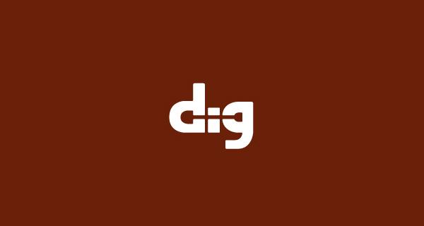Diseños de logos creativos que usan espacio negativo - Dig