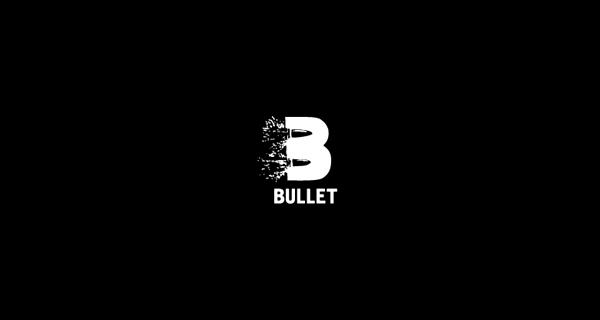 Diseños de logotipos creativos que utilizan espacio negativo - Bullet
