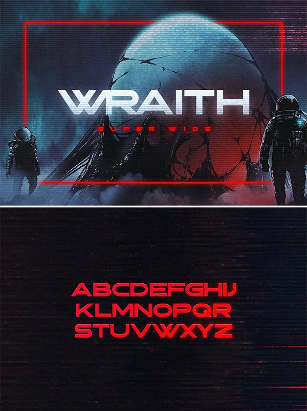 Tipografía Wraith