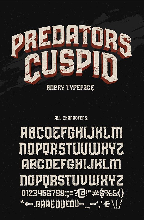 Predators Cuspid fuente