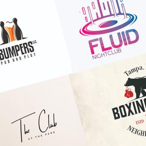 logotipos de bares y discotecas