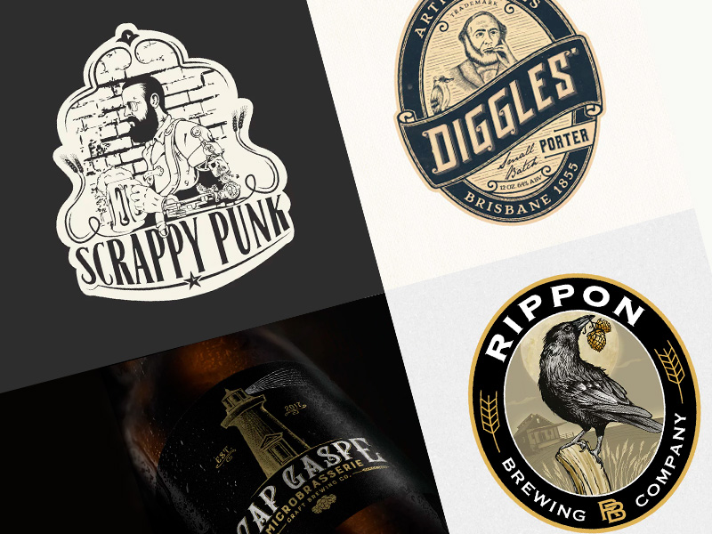logotipos de cerveza