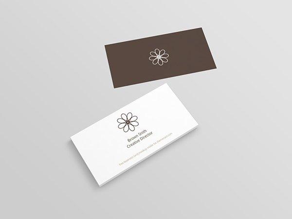 Perspectiva de la tarjeta de visita (PSD)