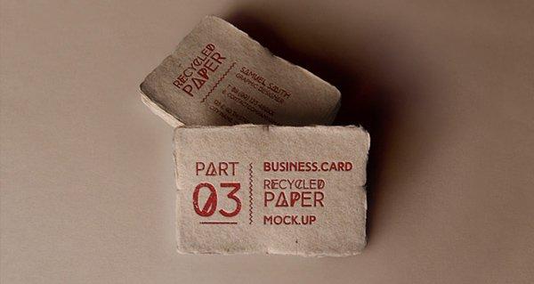Tarjeta de visita Psd Mock-Up Vol16 v3