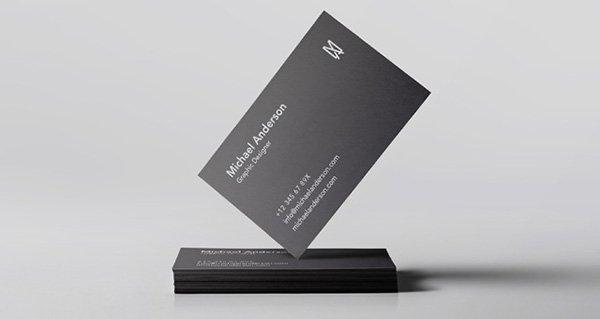 Psd tarjeta de visita mockups vol34