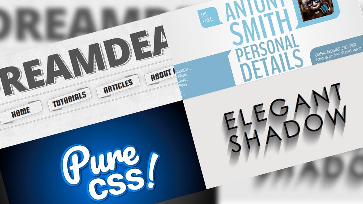 efectos CSS3 en tipografías