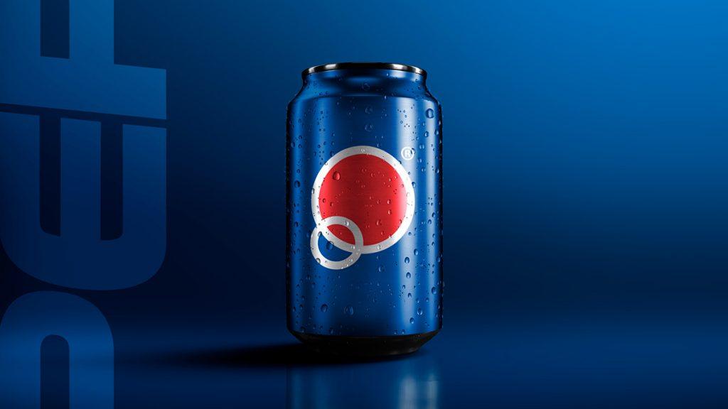 Concepto Pepsi rediseño minimalista: Tendencias de diseño web