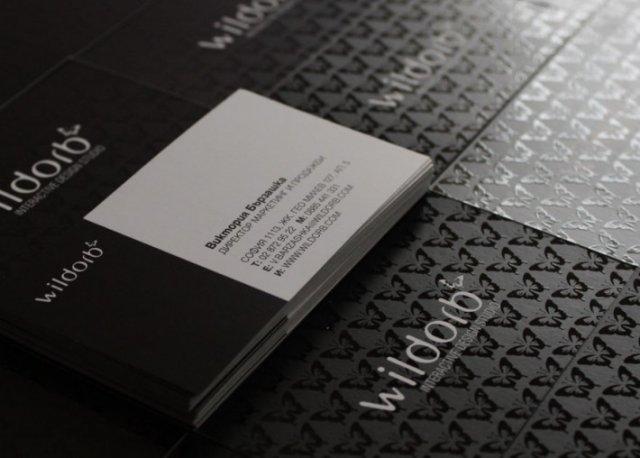 tarjetas de presentación creativas UV Selectivo