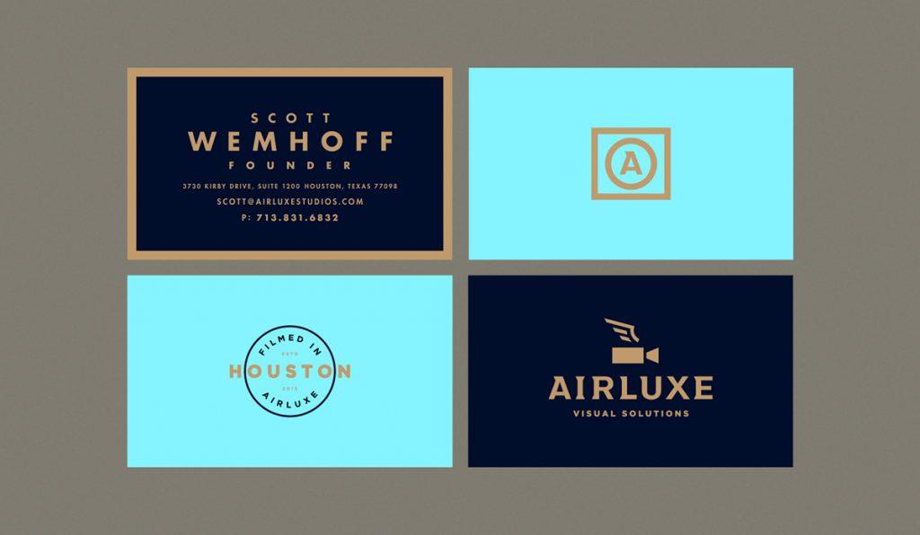 elegante diseño de tarjeta de visita de lujo