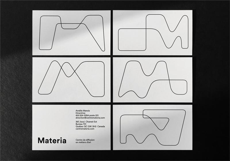 diseño de tarjeta de visita de arte abstracto