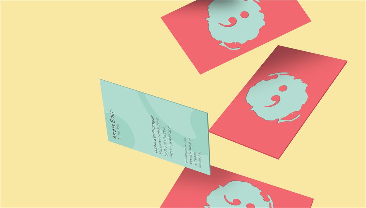 diseño plano diseño de tarjeta de presentación