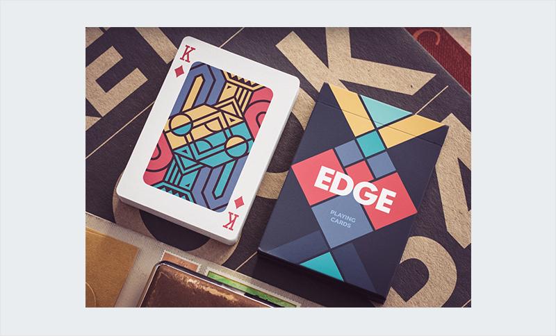 diseño de tarjetas de juego de naipes