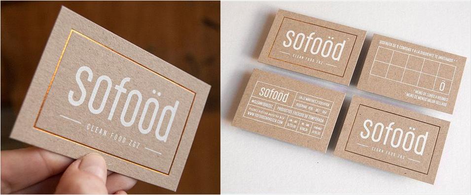 inspiración de diseño de tarjeta de visita de lámina de oro