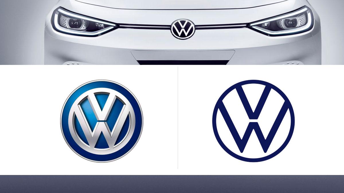 nuevo logo e identidad de marca Volkswagen