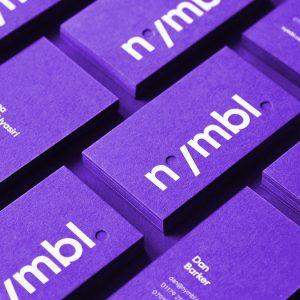tarjeta de presentación modernas