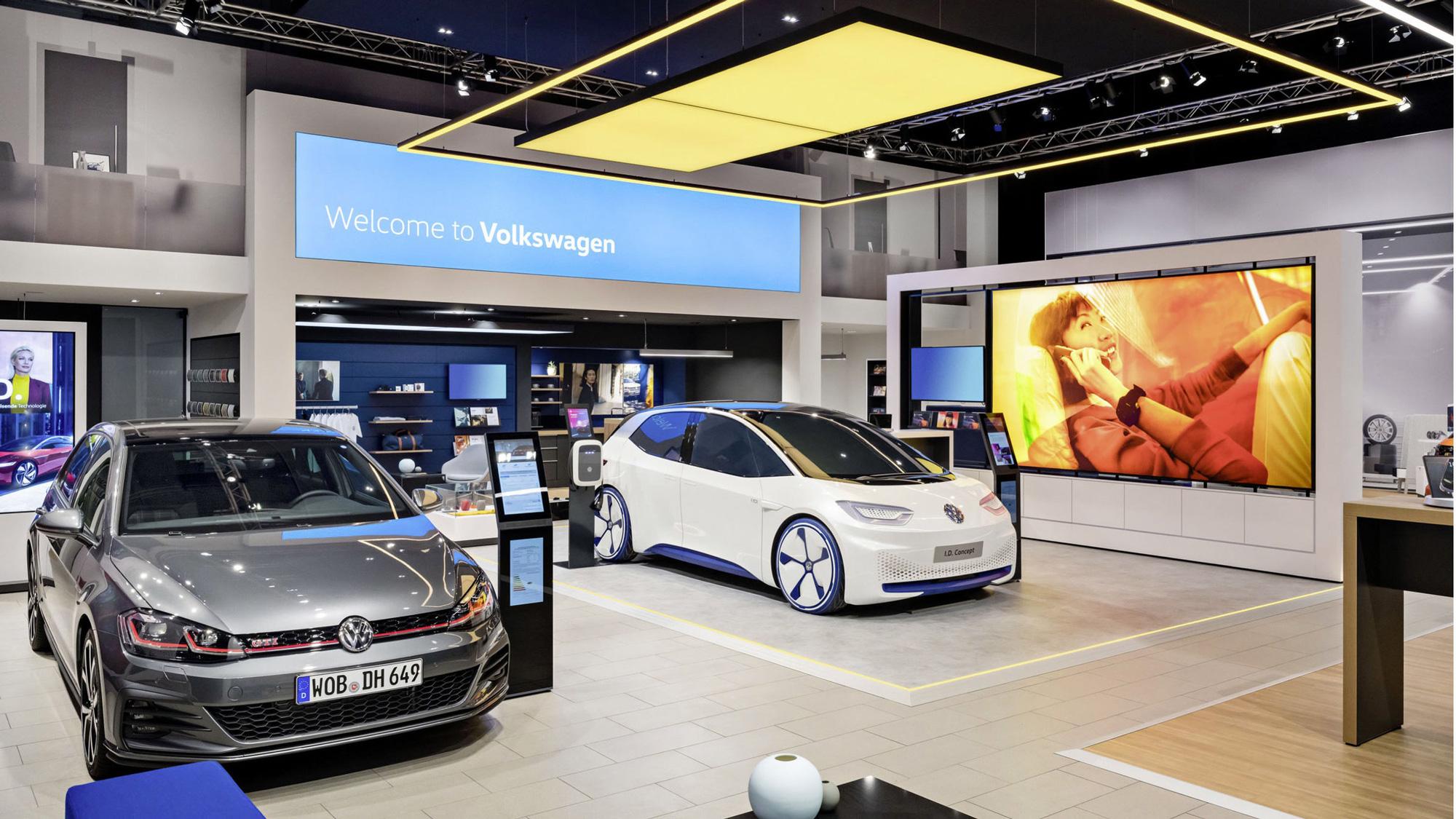 Nuevo logotipo e identidad para Volkswagen hecho internamente