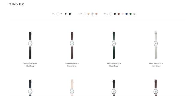 Diseño minimalista en sitios web: Sin fondo de color