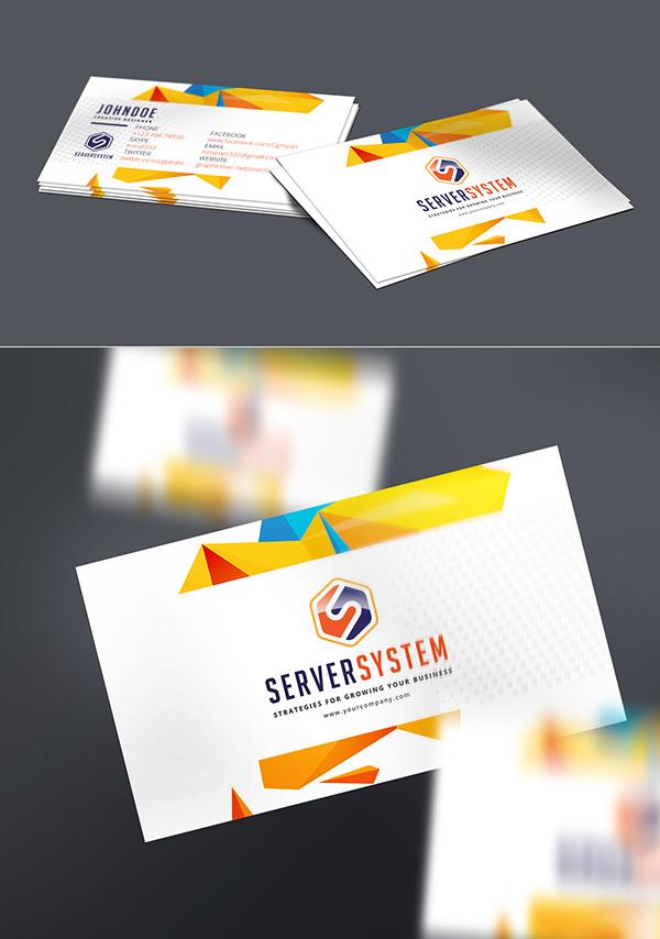 Maqueta de tarjeta de negocios gratis