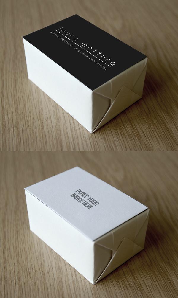 Maqueta de bloque de tarjeta de negocios gratis