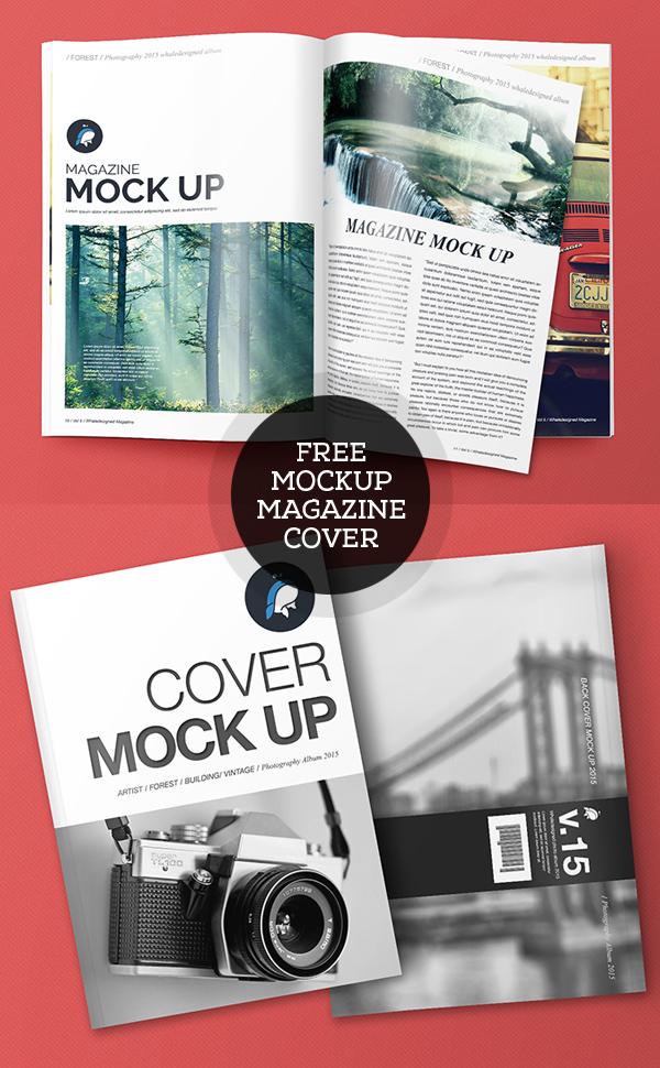 Revista PSD gratuita y maquetas de portadas