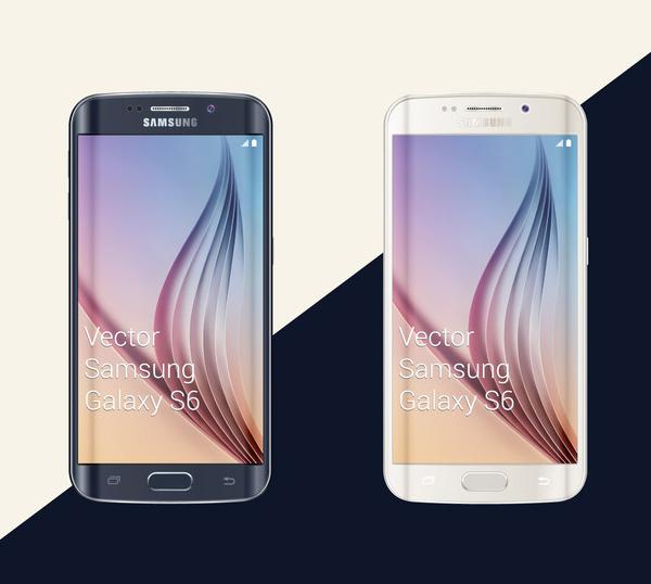 mockups en PSD gratis para Samsung Galaxy S6