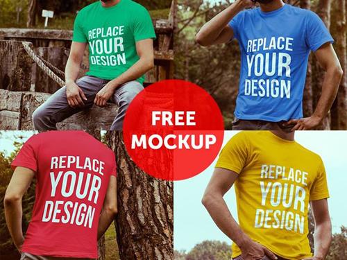 Camiseta Mock Up